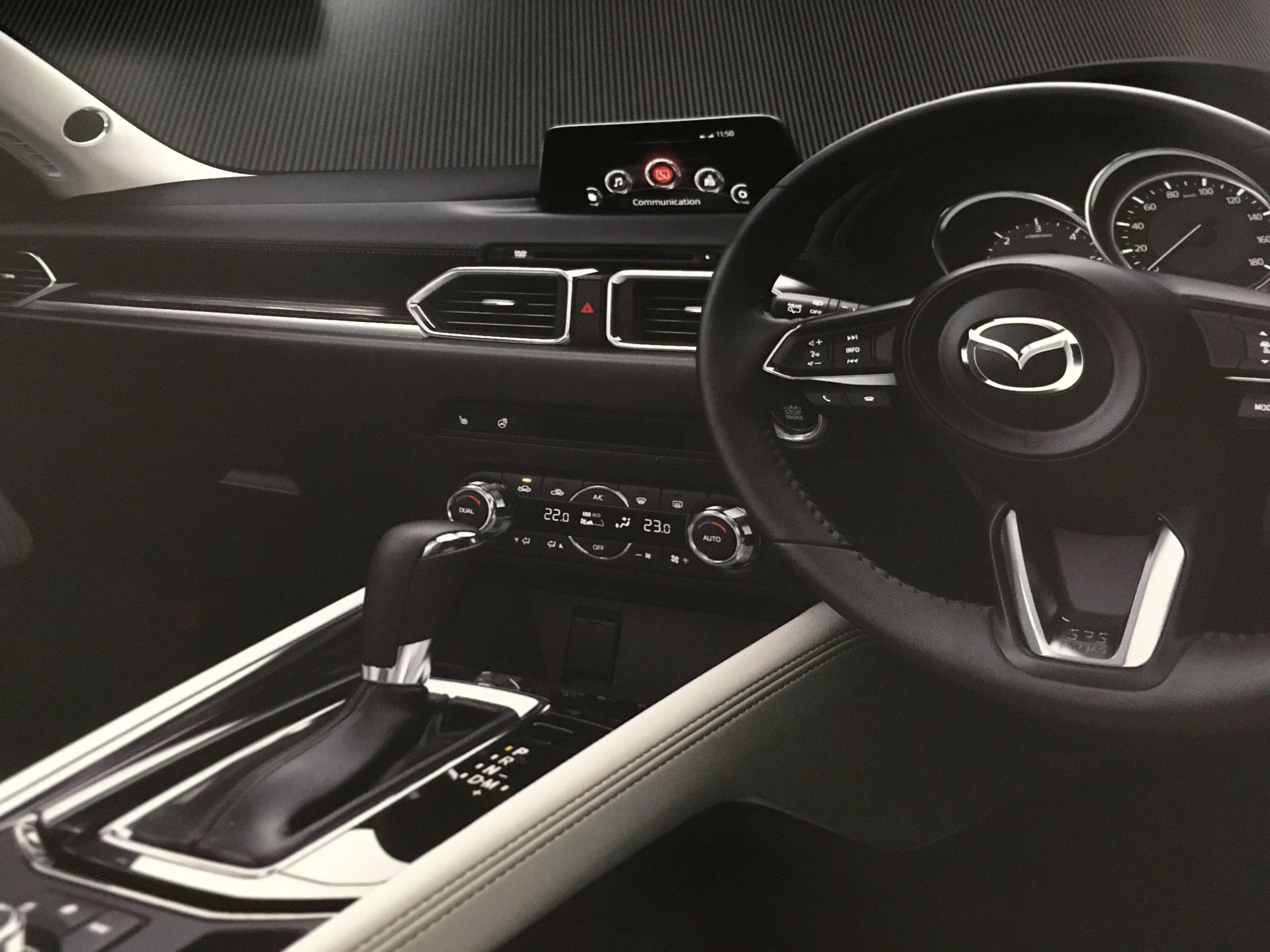 新型CX-5試乗レビュー⑥運転席とインテリア