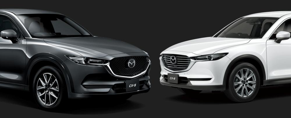 CX-5とCX-8の細かな違いを比較!買うならどっち?
