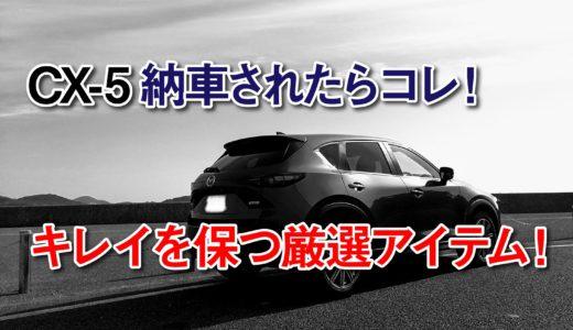 CX-5納車したらコレを買え!キレイを保つ厳選アイテム