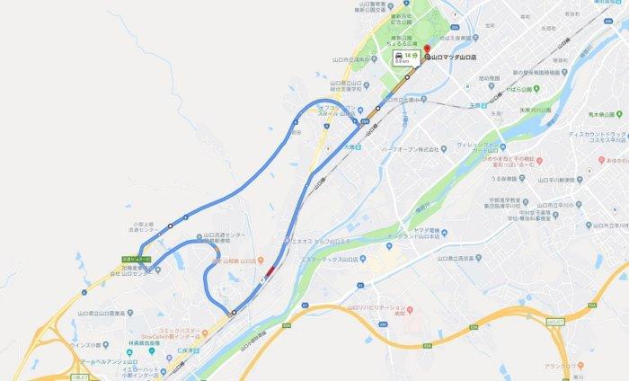 MAZDA3 試乗コース