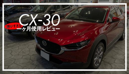 CX-30【細かすぎる一ヶ月使用レビュー】