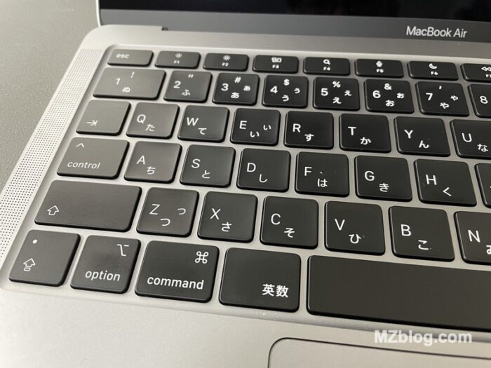 M1 MacBookAir キーボードテカリ防止